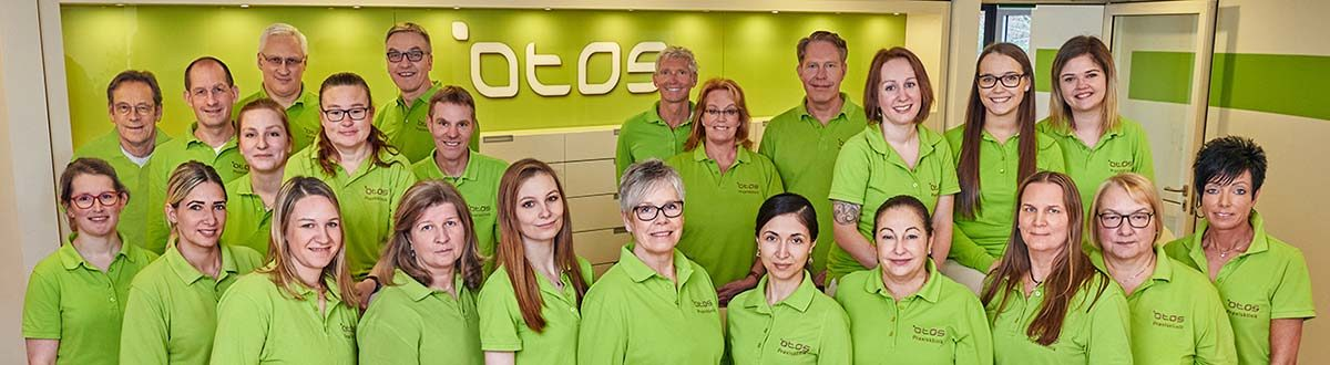 Das Team der OTOS Praxisklinik